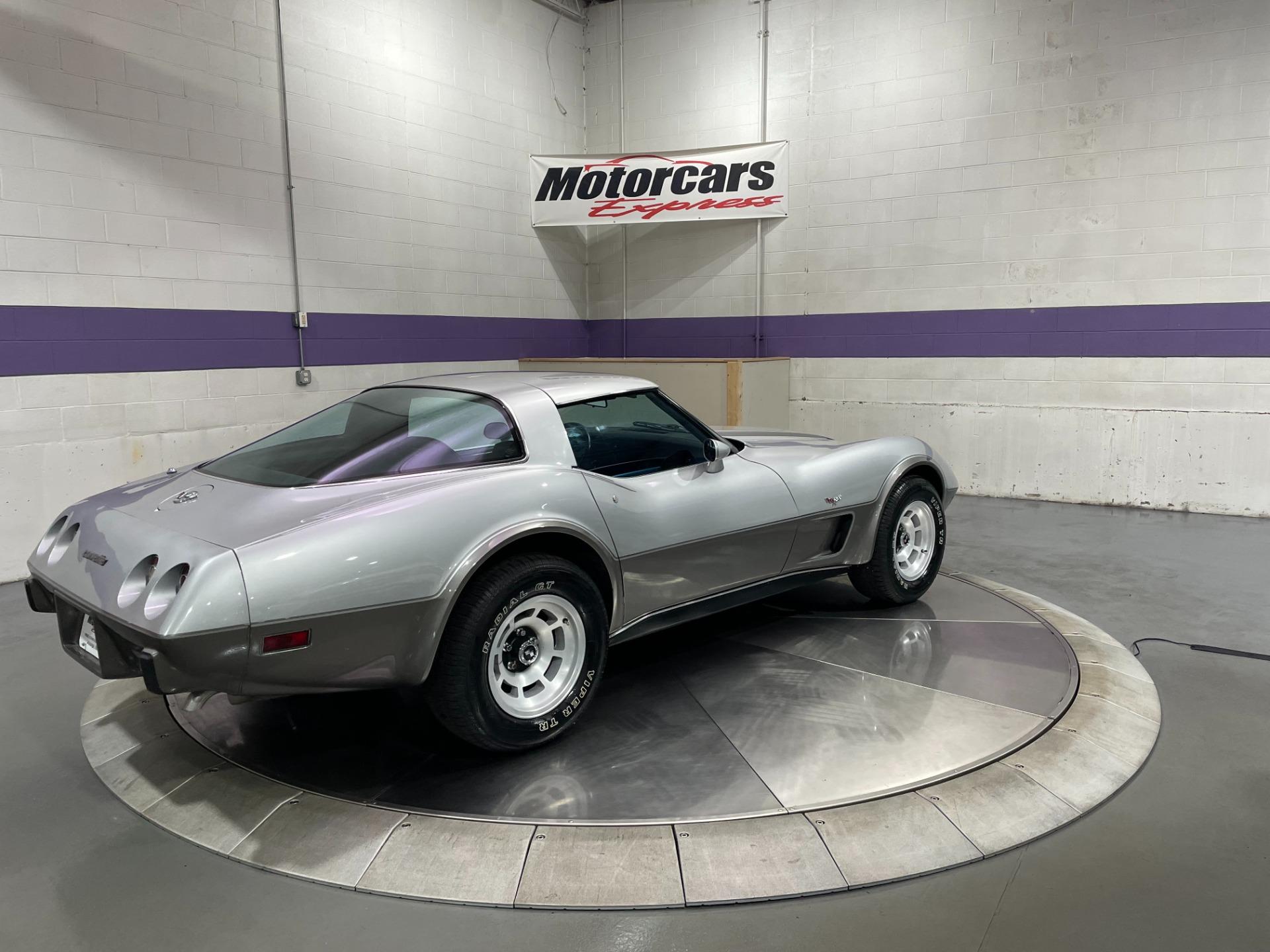 Used-1978-Chevrolet-Corvette-Silver-Anniversary