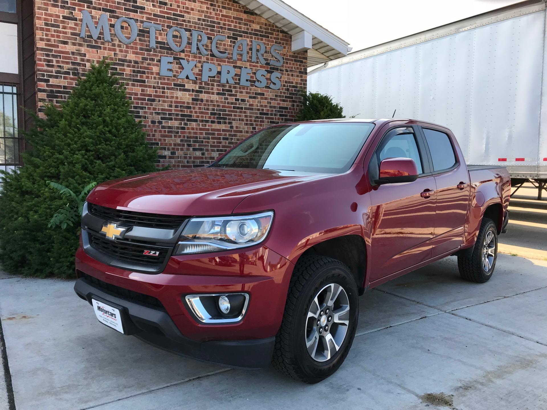2017 Chevrolet Colorado Z71 Stock for sale near Alsip IL