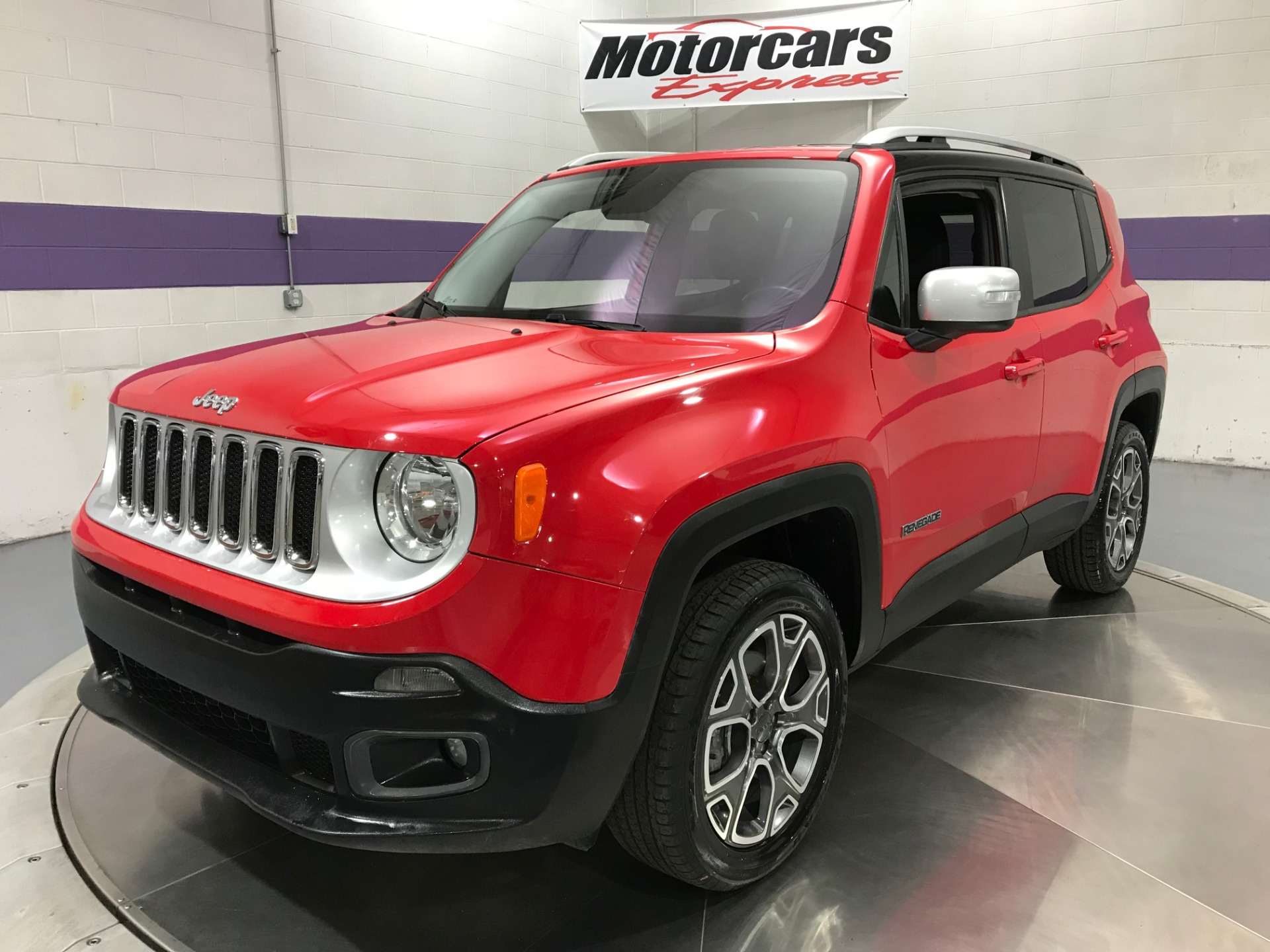 Used 2017 Jeep Renegade Limited 4x4