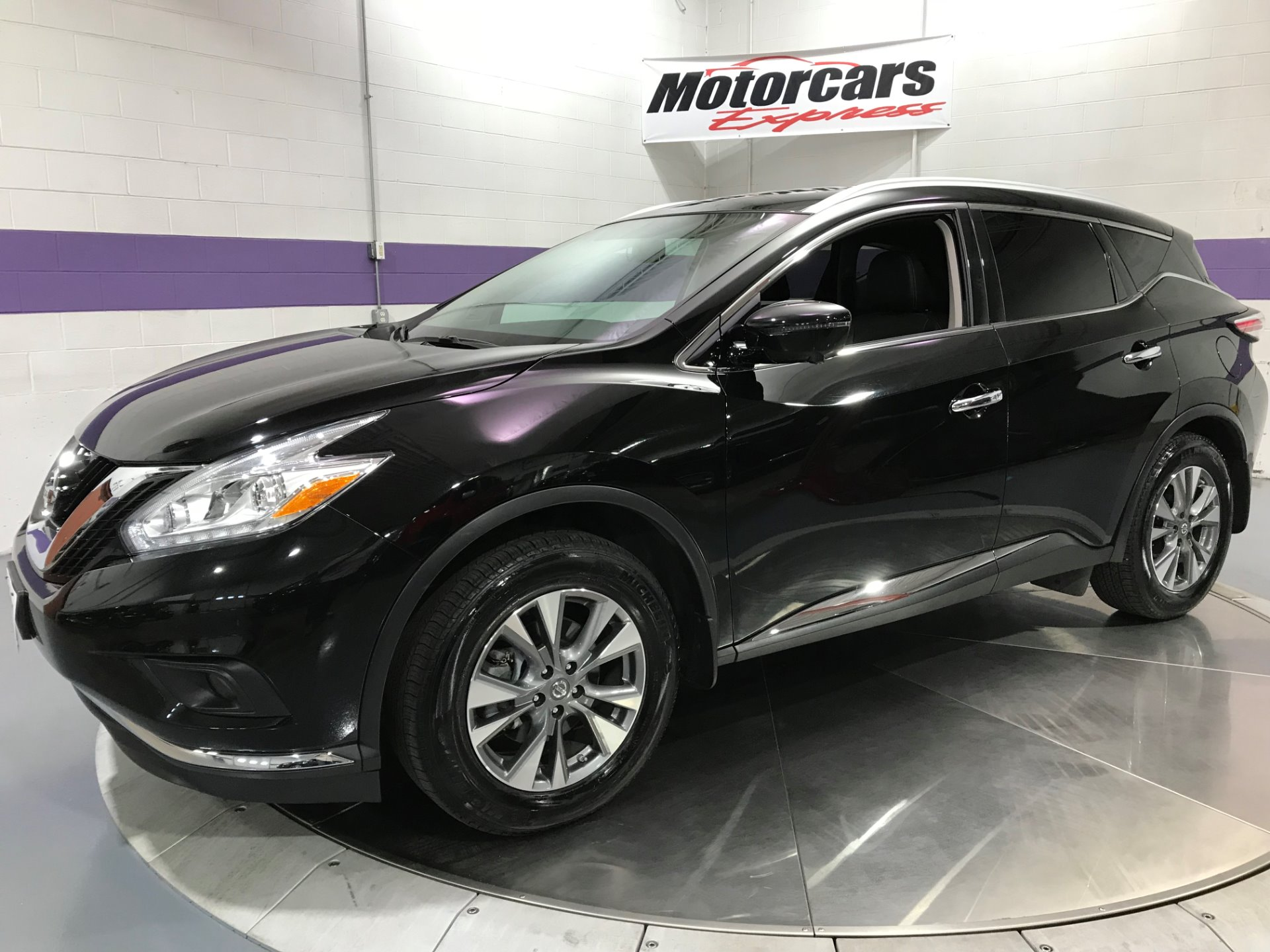 2016 nissan murano sl awd stock 24481 for sale near alsip il il nissan dealer. Black Bedroom Furniture Sets. Home Design Ideas