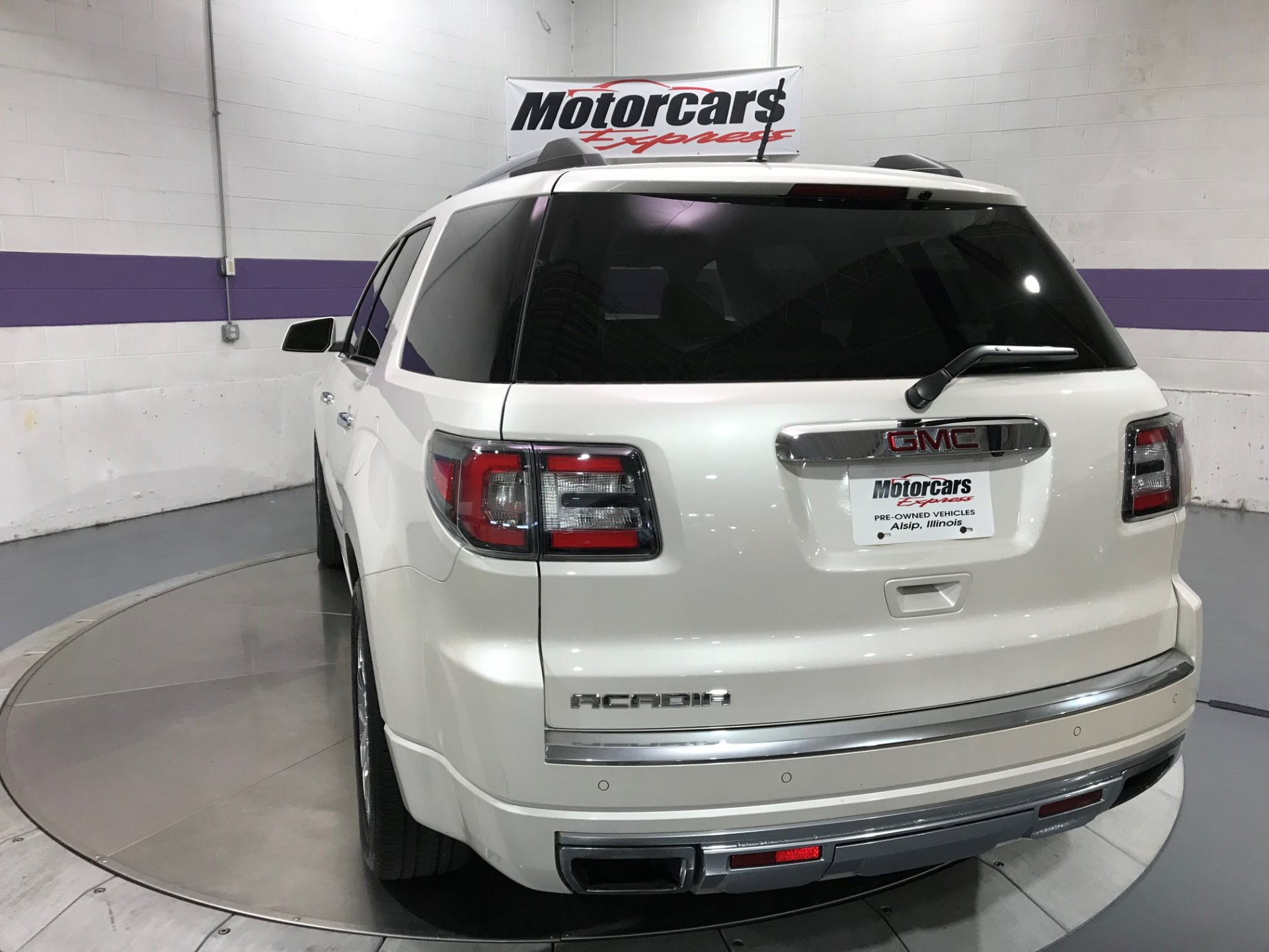 2015 GMC Acadia Denali Stock # MCE2222 for sale near Alsip, IL | IL GMC Dealer