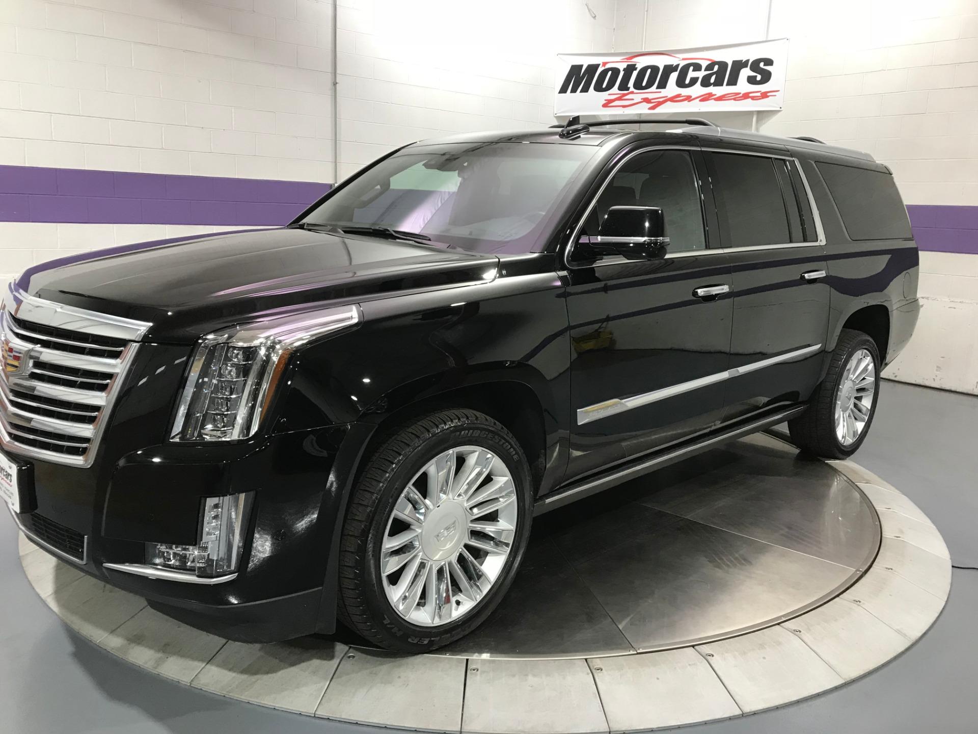 Used 2017 Cadillac Escalade Esv Platinum