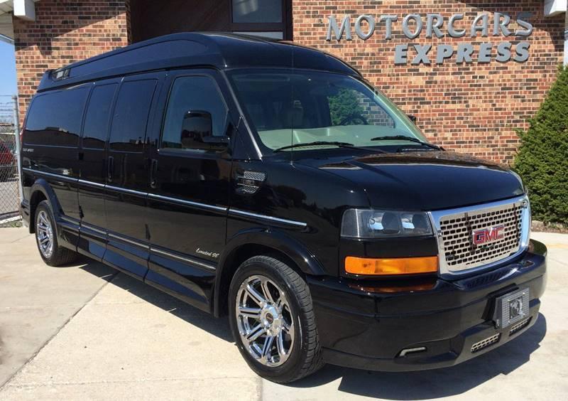 Used 2015 GMC Savana Conversion 2500 Van 2500 3dr Extended Conversion Van w/YF7 Upfitter | Alsip, IL