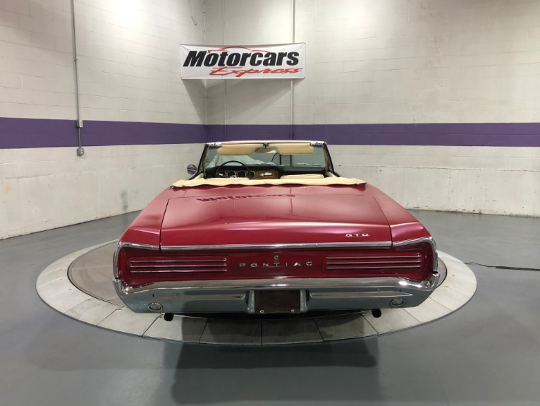 Used-1966-Pontiac-GTO-CONVERTIBLE
