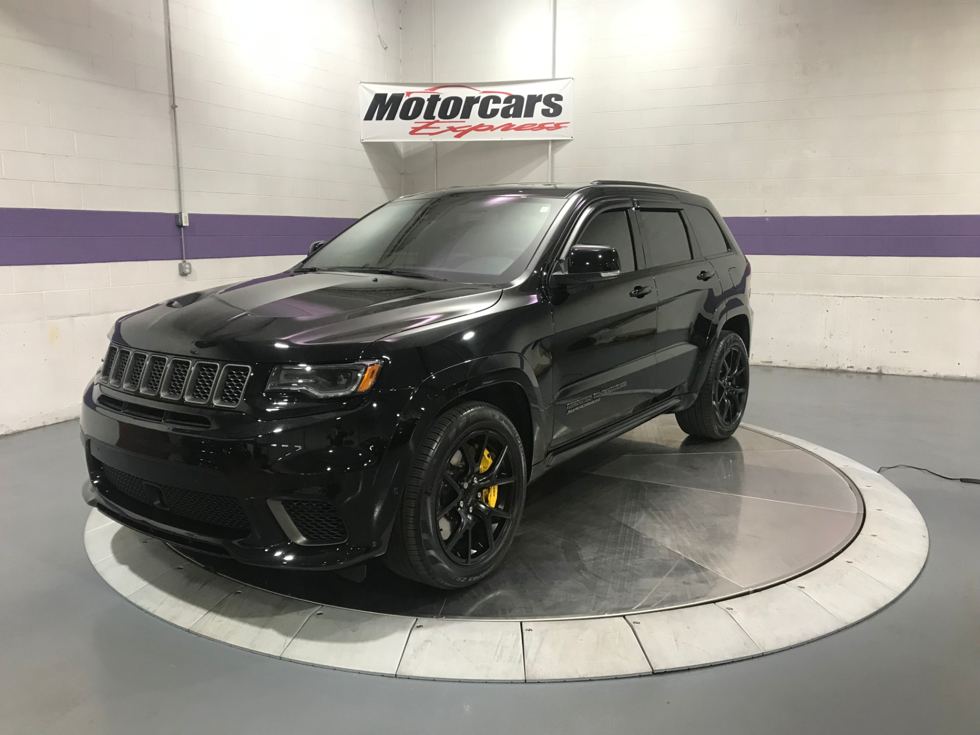 2018 Jeep Grand Cherokee Trackhawk Stock   25200a For Sale
