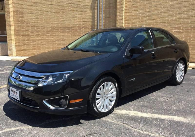 Used 2010 Ford Fusion Hybrid Base 4dr Sedan