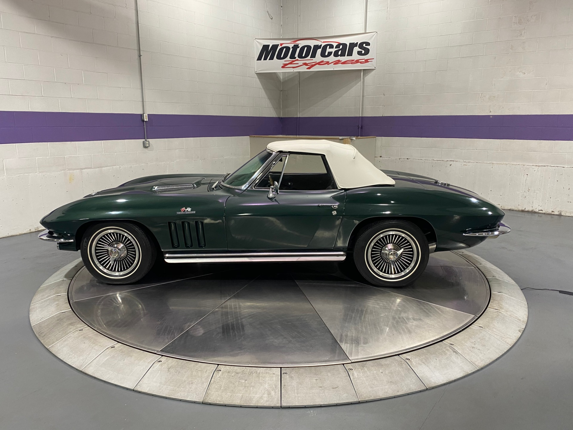Used-1965-Chevy-Corvette-Stingray-Convertible-396-Turbo-Jet-425Hp-Numbers-Matching