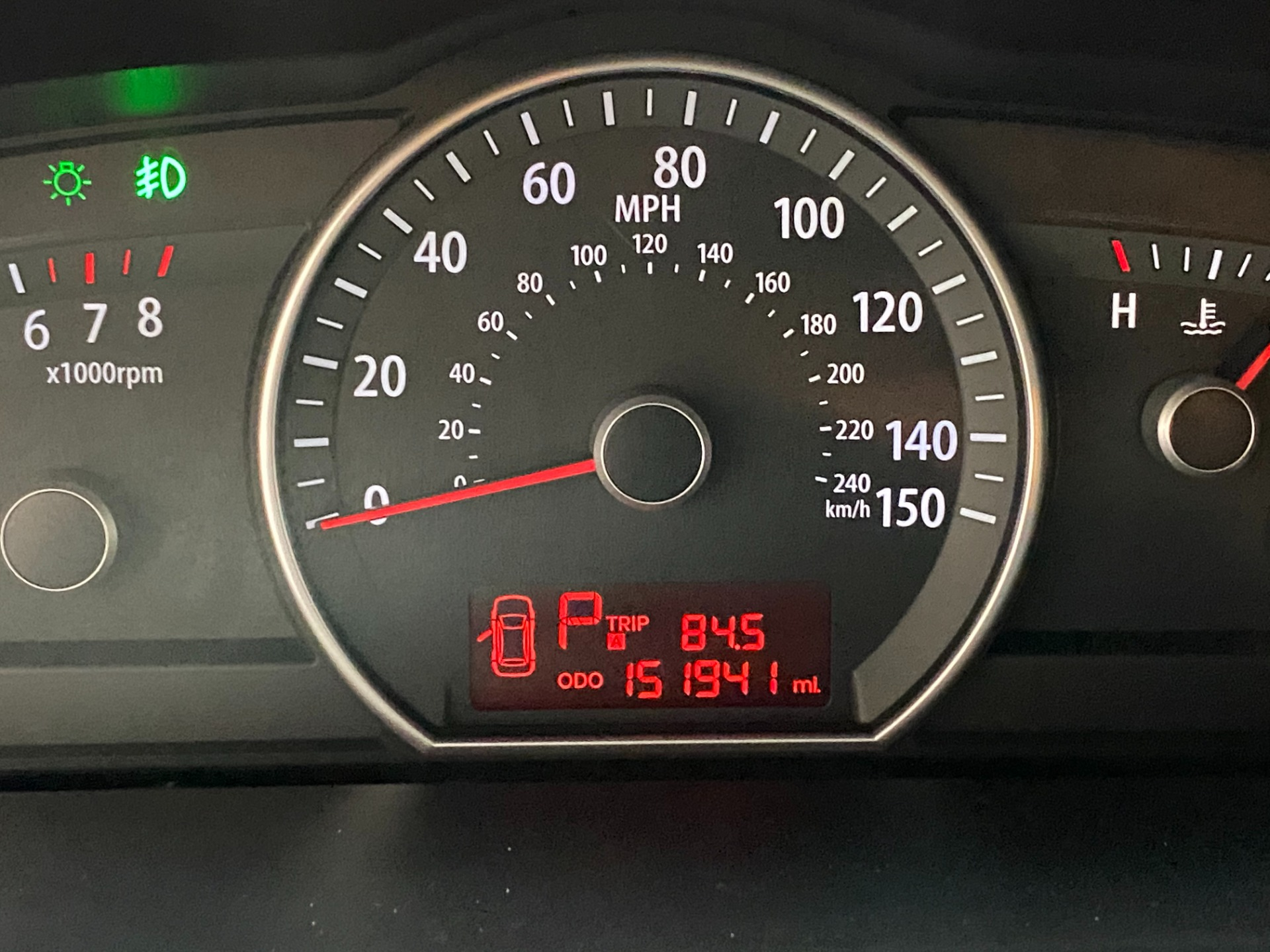 Used-2009-Kia-Borrego-EX-4x4